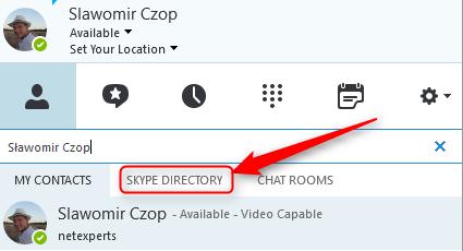 Skype dla firm - integracja ze Skype 2