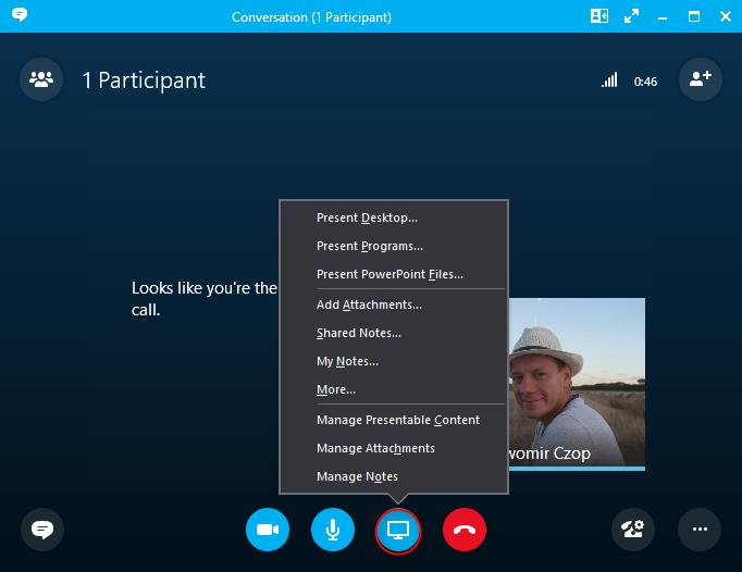 Skype dla firm - konferencje