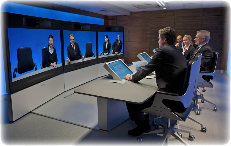 Cisco Telepresence T3 transparent