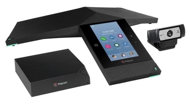 Polycom Realpresence Trio 8800 Collaboration Kit transparent
