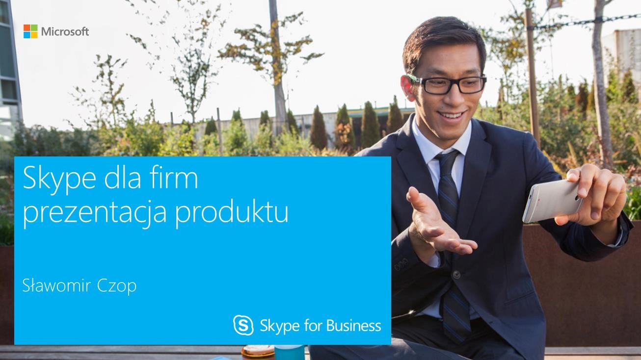 Skype dla firm - prezentacja
